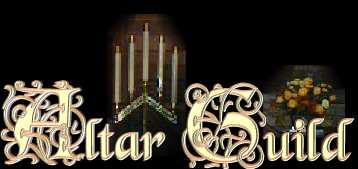 Altar Guild Title graphic