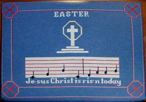 Easter cushion.