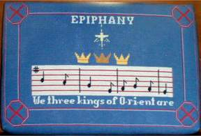 Epiphany cushion