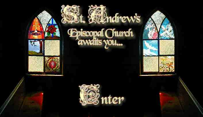 Hot Link Entrance graphic to St Andrew's Church website